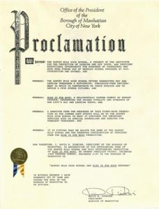 Proclamation copy